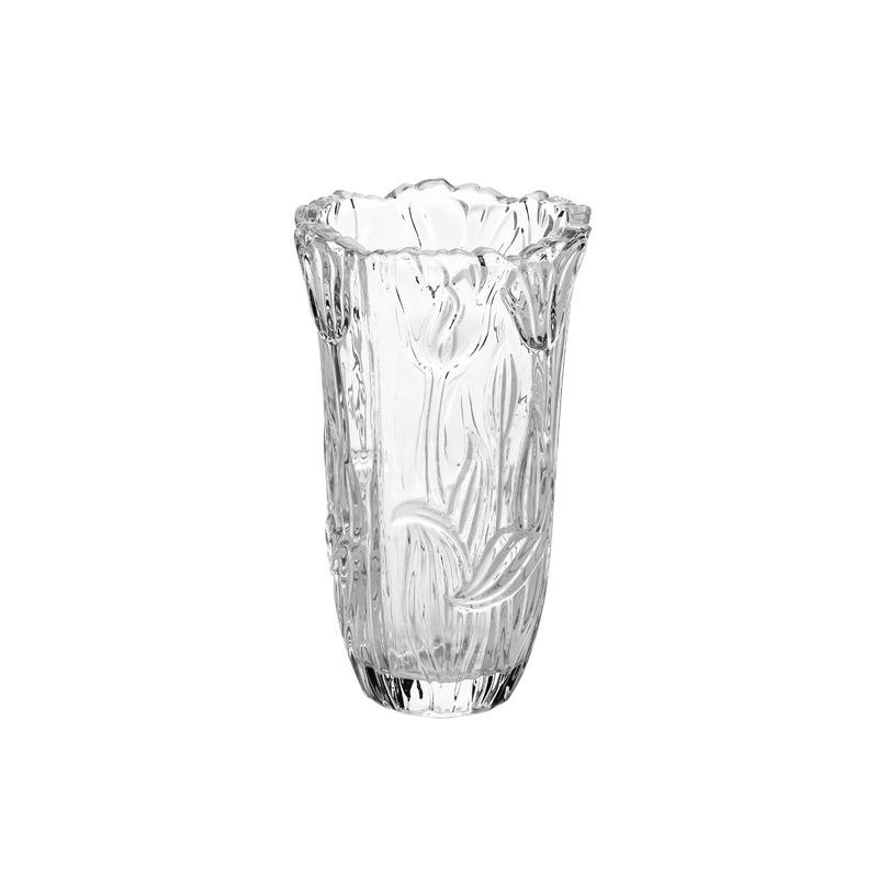 Vaso Roses De Vidro 30Cm