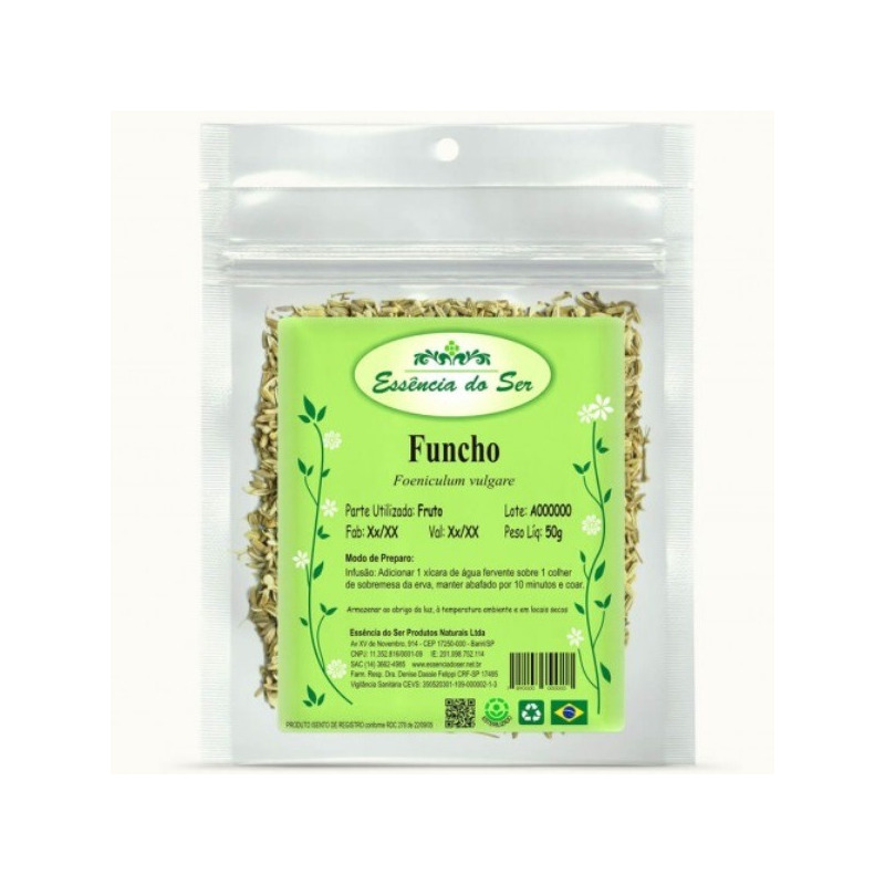 Cha de Funcho - Kit 3 x 50g - Essencia do Ser