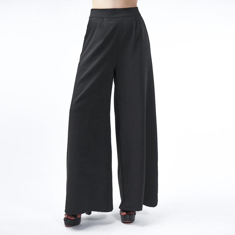 Pantalón Negro Holgado 019539
