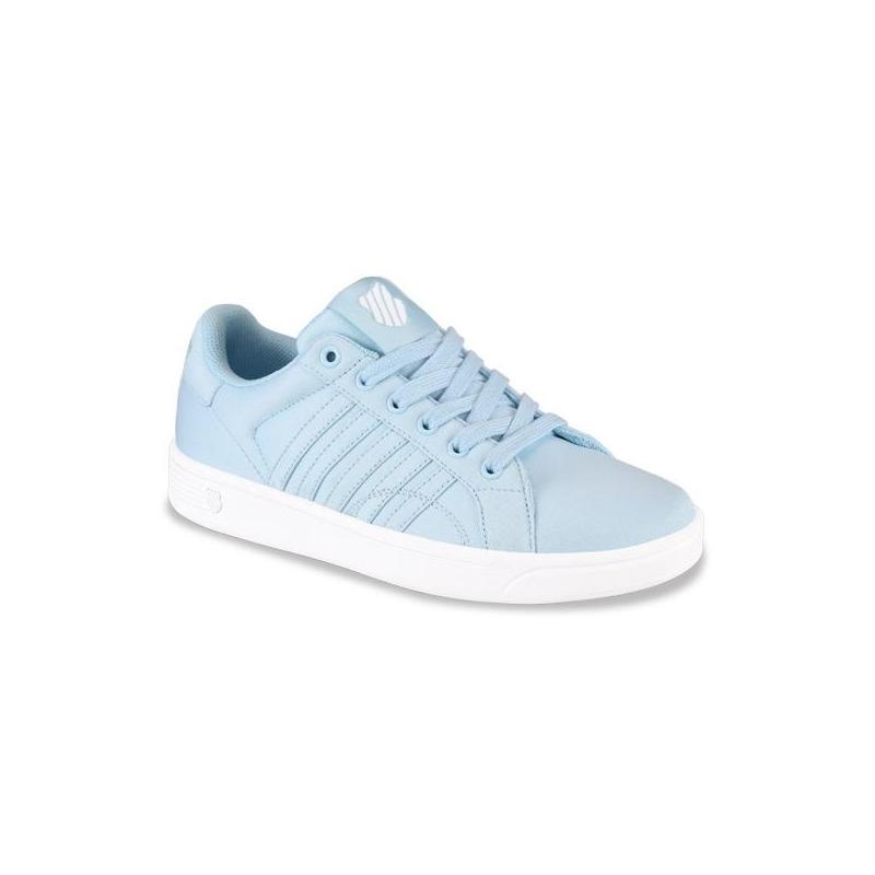 Sneakers K-Swiss azules con costuras K9F258