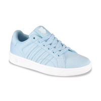 Sneakers K-Swiss azules con costuras K9F258