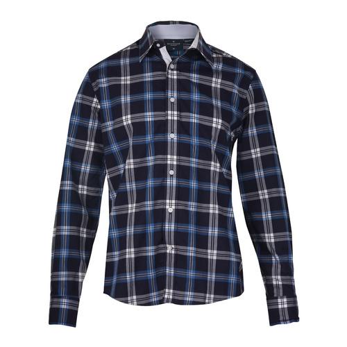 Camisa Wrangler Classic Regular Hombre Azul (05419518302601)