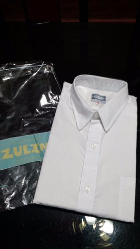 Camisas Escolares Batista De 1° Calidad Manga Corta Y Larga