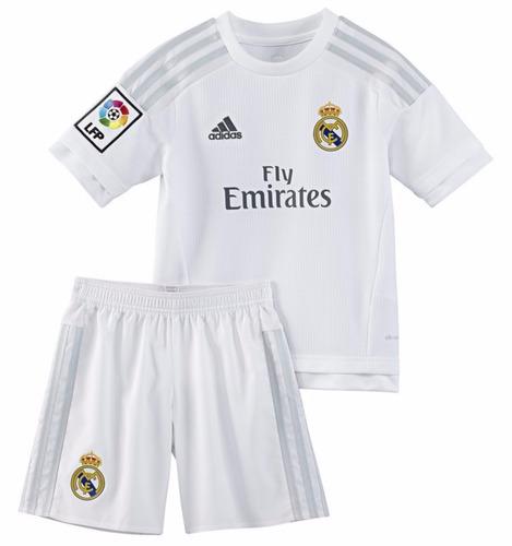 Camiseta + Short/kit De Niños Real Madrid 2016