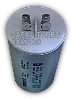 Capacitor De Marcha 25 Mf 400vca 50/60hz Aire Acondicionado