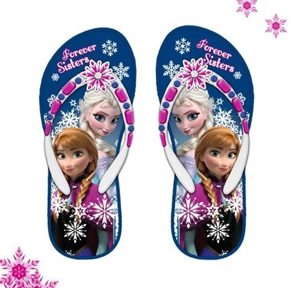 Disney Ojotas Originales Con Luz De Frozen Talles 27 Al 31