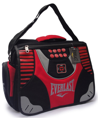 Morral Bolso Maletin Everlast Notebook Deportivo Escolar