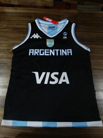 accb128225595 Musculosa Seleccion Argentina Basquet Mundial 2014 Kappa