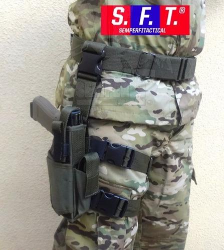 Muslera Tactica Swat Deluxe Verde De Semper Fi Tactical®