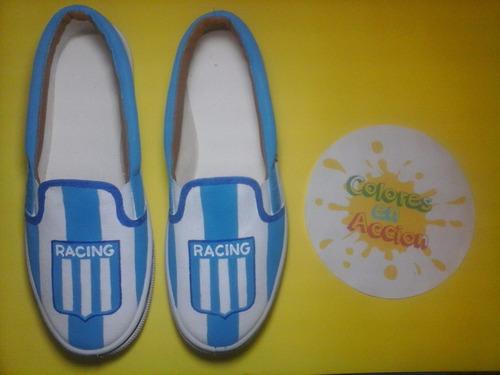 Panchas Zapatillas Racing Club