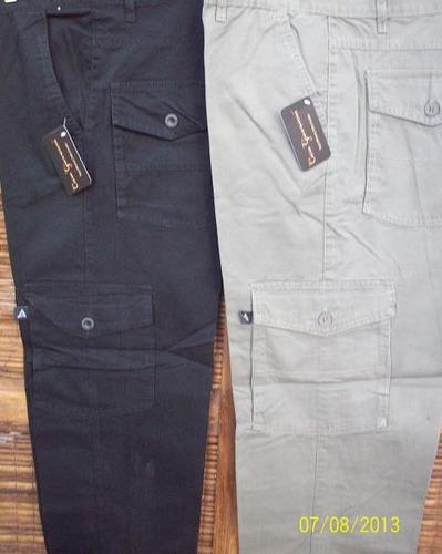 Pantalón Cargo T Especiales.grandes Gabardina T Del 40 Al 70