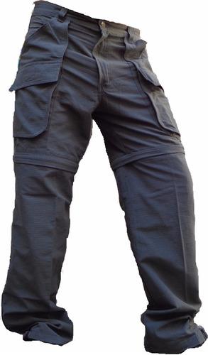 Pantalon Desmontable Explora Antidesgarro Ripstop Pesca Caza