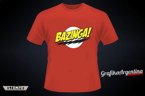 Remera Bazinga, The Big Bang Theory