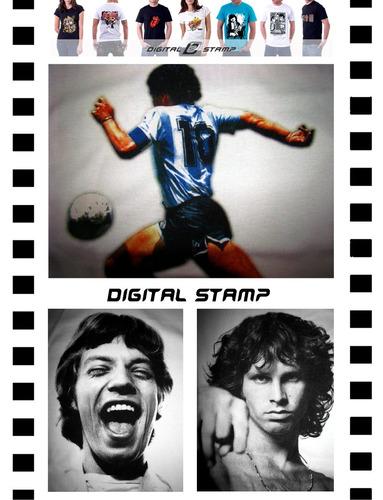 Remeras Personalizadas Impresion Directa Dtg Digital Stamp