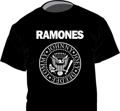 Remeras Ramones 16 Modelos 1ra Calidad , Punk Rock Musica
