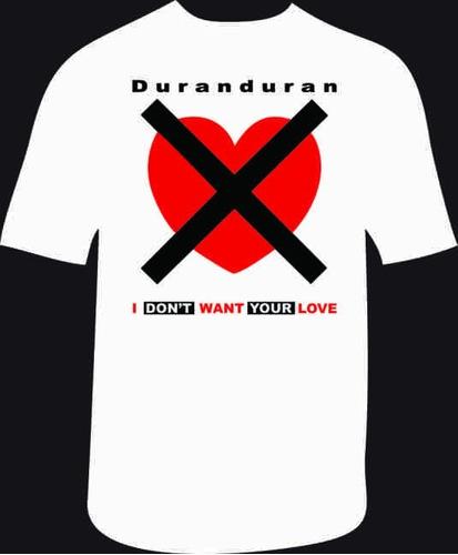 Remeras Rock Duran Duran (código 02)