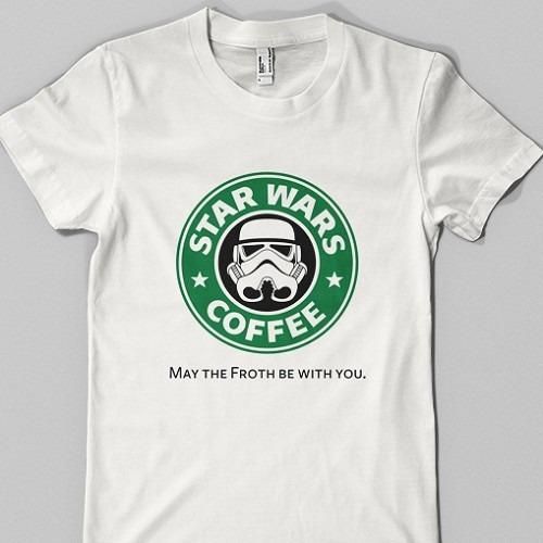 Remeras Star Wars Coffee