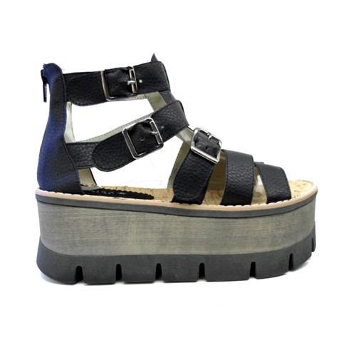 Sandalias Franciscanas C/ Plataforma - Moda Primavera-verano