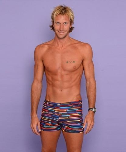 Short Meolans Swimwear Adultos - Malla Anticloro Natación