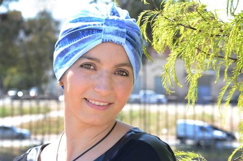 Turbantes Oncologicos Estampados 100% Algodon