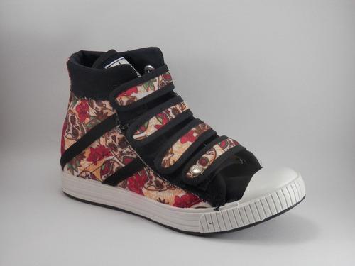 Zapatillas Botitas Con Abrojos Fio Calzados Art122