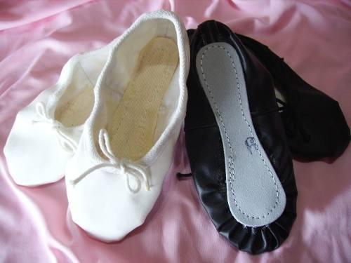 Zapatillas De Danzas Cuerina Badanas