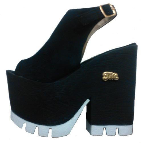 bf5016e7 Zapatos Sandalias Plataforma Verano 2016 Mariposa | Tienda M45